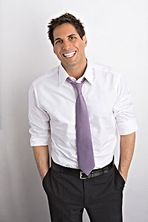 Joe Francis in suit