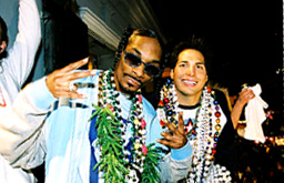 Joe Francis and Snoop Dogg