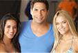 Joe Francis Picture with Olga Segura and Abbey Wilson
