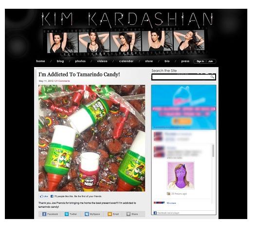 Kim K Blog