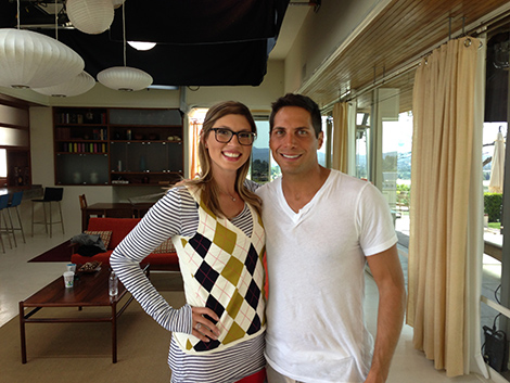 Sarah Novia and Joe Francis